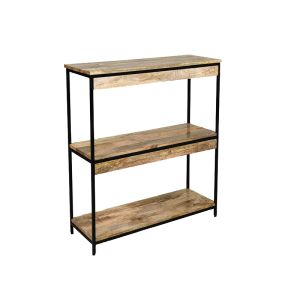 Industrial Small Bookcase