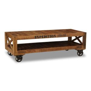 Industrial Crate Coffee Table