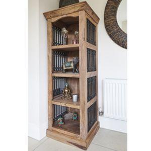 Jali Natural Bookcase