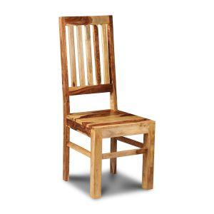 Jali Light High Back Slat Chair