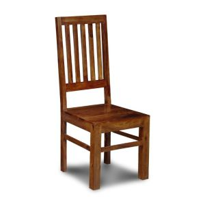Jali High Back Slat Chair
