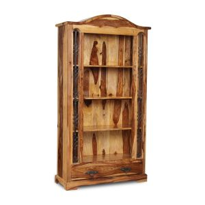 Jali Light 1 Drawer Bookcase