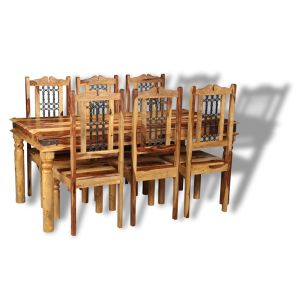 Large Jali Light Dining Set