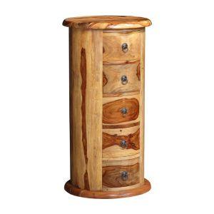 Jali Light 5 Drawer Large Drum
