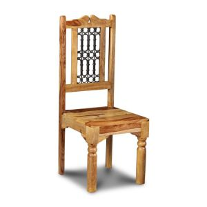 Light Jali Dining Chair