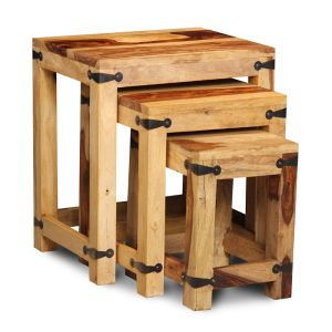 Jali Light Nest of Tables