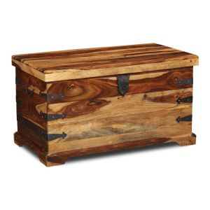 Jali Light Storage Chest