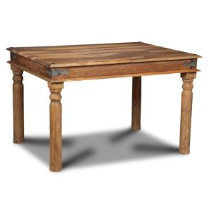 Small Jali Natural Dining Table