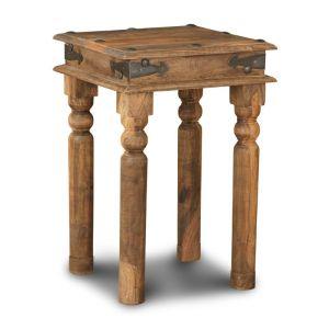Jali Natural Lamp Table