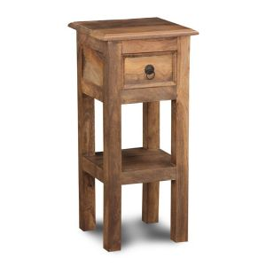 Jali Natural Telephone/Lamp Table