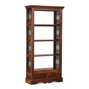 Jali 2 Drawer Bookcase