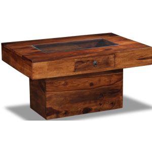 Jali Pebble Coffee Table