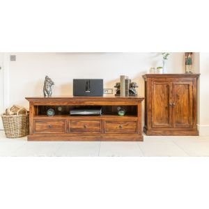 Sheesham DVD Cabinet