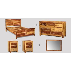 Large Double Cube Light Bedroom Package