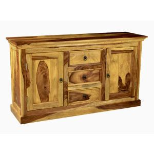 Light Large Sheesham Sideboard