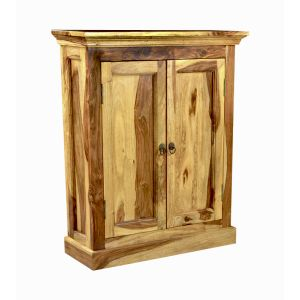 Light Sheesham DVD Cabinet