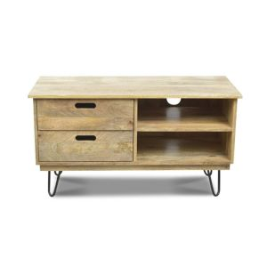 Light Vintage TV Unit