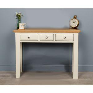 Lyon White Painted Oak Dressing Table