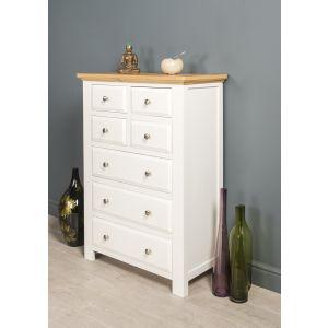 Lyon White Painted Oak Bedroom Chest