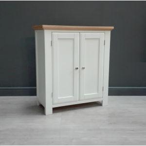 Lyon White Painted Oak Linnen Chest