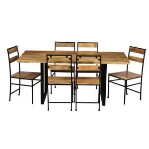 Large Industrial Dining Set