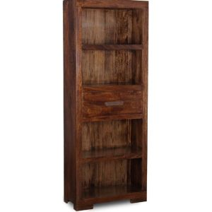 Mango 1 Drawer Bookcase