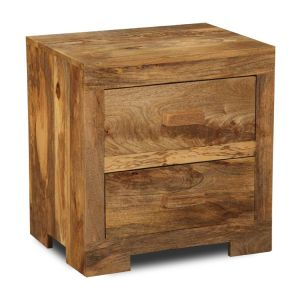 Light Mango 2 Drawer Small Chest