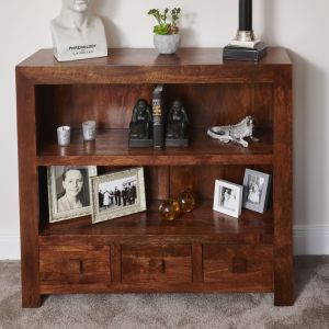 Dakota Low Bookcase
