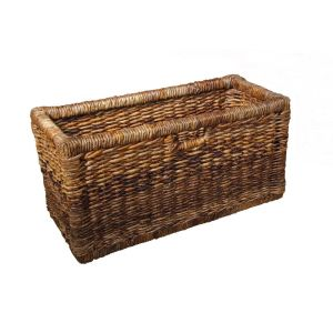 Rattan Bookcase Basket