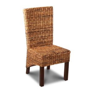 Rattan Rollback Dining Chair