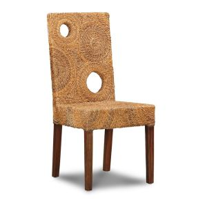 Rattan Solo Dining Chair