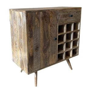 Light Retro Chic Winerack