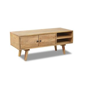 Light Retro Chic TV Stand