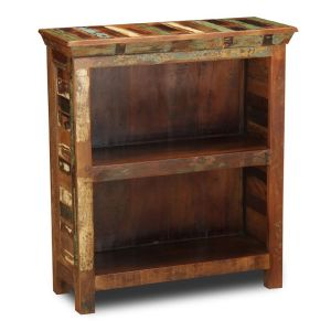 Reclaimed Indian Small Bookcase
