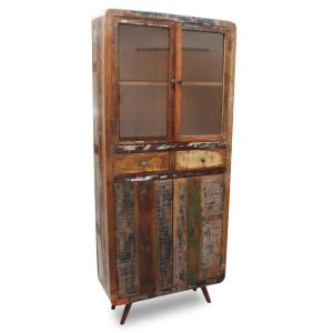 Recycled Retro Display Cabinet