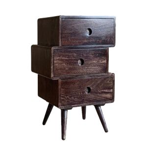Vintage Mango Chest of Drawers Small