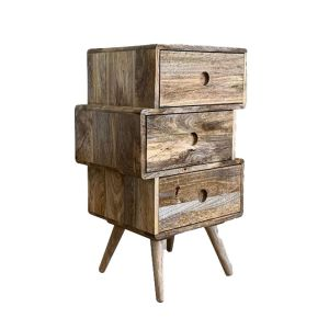 Light Vintage Mango Chest of Drawers Small