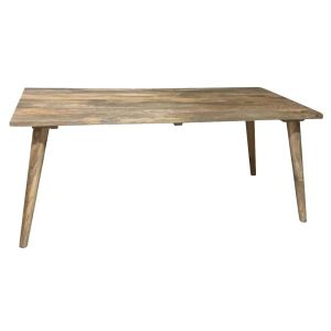 Light Retro Chic Large Dining Table