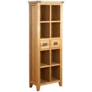Atlanta 2 Drawer Bookcase