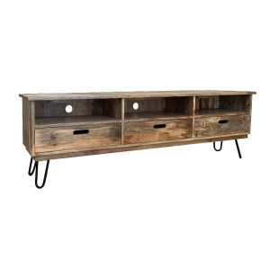 Light Vintage TV Stand