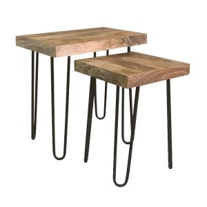Light Vintage Side Tables