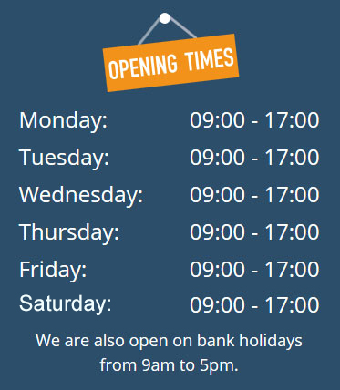 Opening Times Image