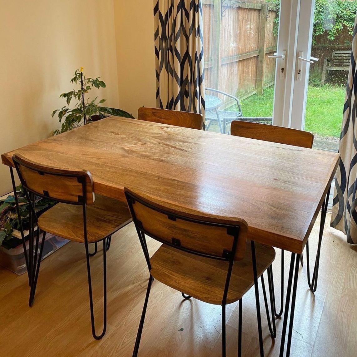 Light Vintage Dining Table