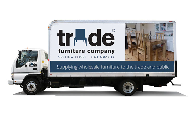 Trade Furniture Company Delivery Van