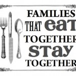 Why Families Should Eat Together; and how a Dining Set can Help