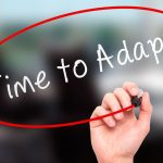 Adapting is the only way to progress