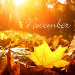 November Already!