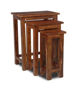 Jali Tall Nest of Tables